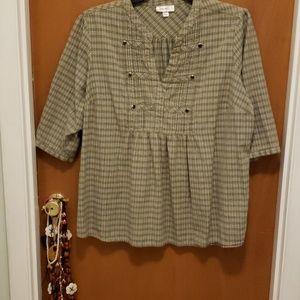 NWOT Women's Dress Barn Top Plus Size SZ 3X
